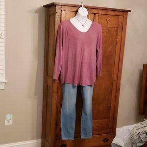 Loft size 20/22 Raspberry sweater